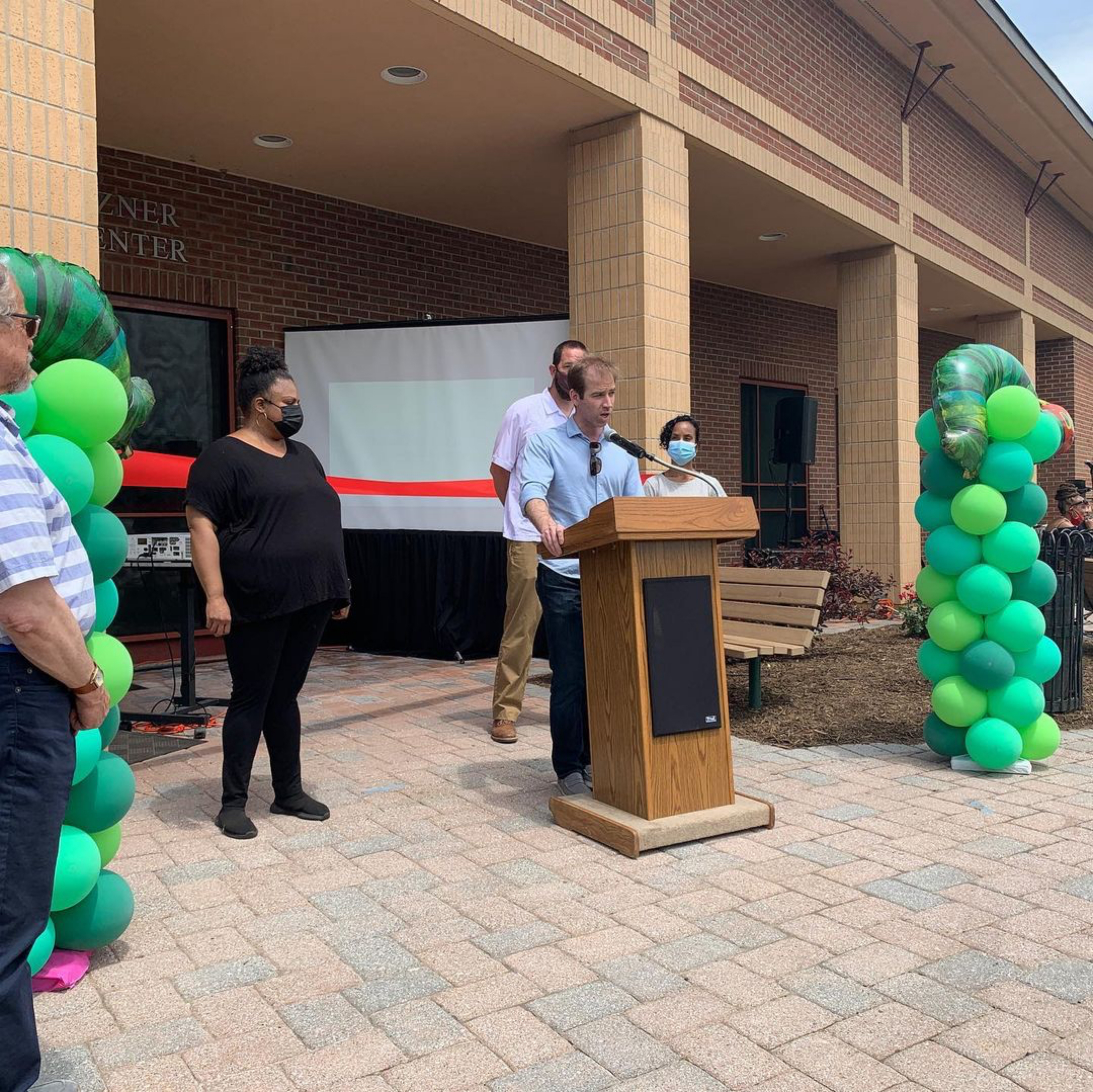 Thanks Mayor Luke Bronin for making this happen. As the architects for this project, we are thrilled to give the community a brand new bright and happy day care/early learning facility for toddlers and pre-K. My favorite type of project !